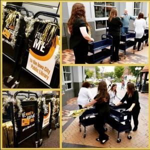 2016 09 Book Cart Drill Team