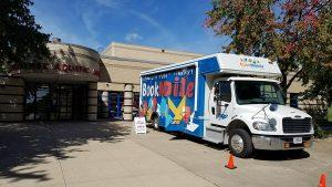 Bookmobile at Mercer Park