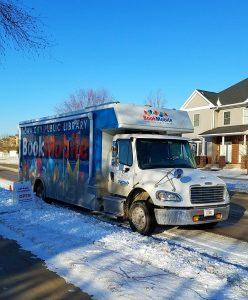 Bookmobile at Saddlebrook