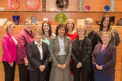 "Winners of the 2013 ""Women of Influence"" awards"