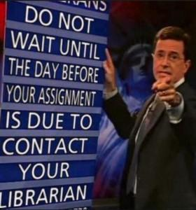 Do not wait Colbert