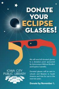 Donate eclipse glasses