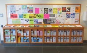 Iowa City Public Library Lobby Event Board