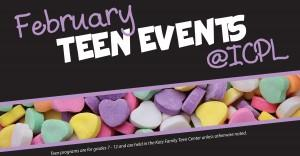 February Teen Events Blog