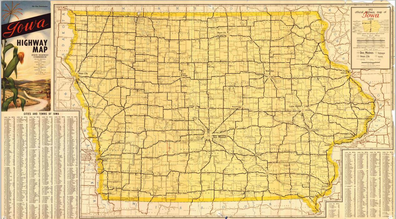 Old Iowa Map.Blog Iowa City Public Library