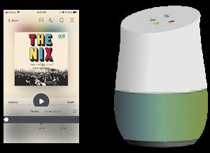 Stream Audiobooks to Smart Speaker