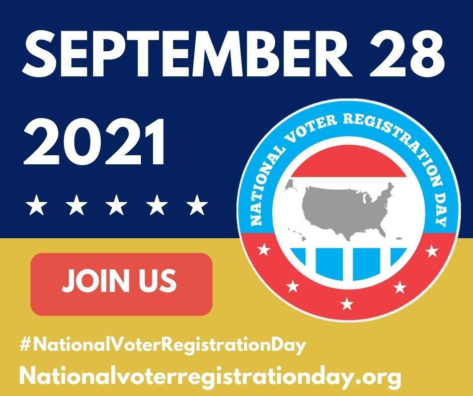 National Voter Registration Day image