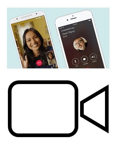 video chat icon and sample screenshot