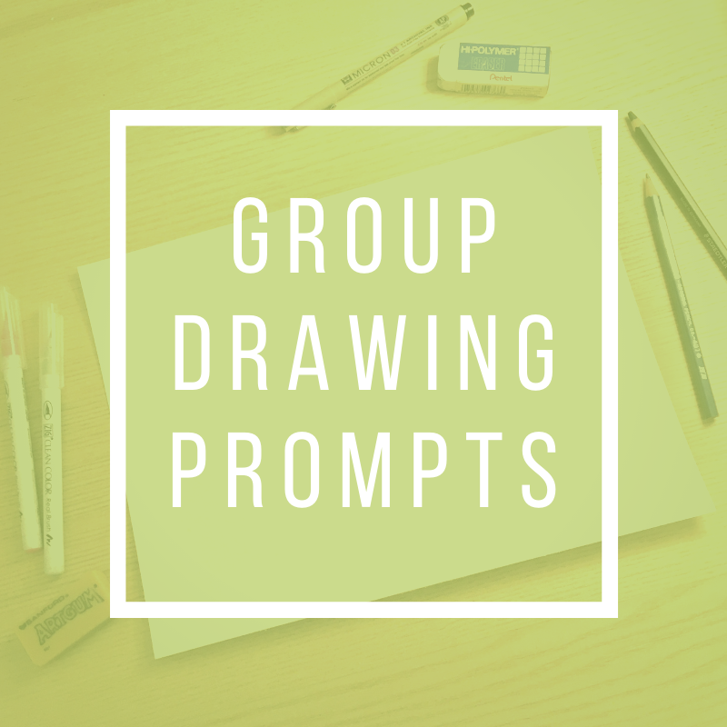 Group Drawing Prompts