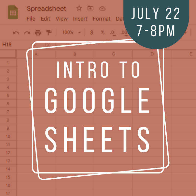Intro to Google Sheets