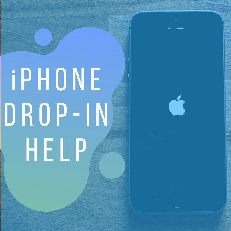 iPhone Drop-In Help