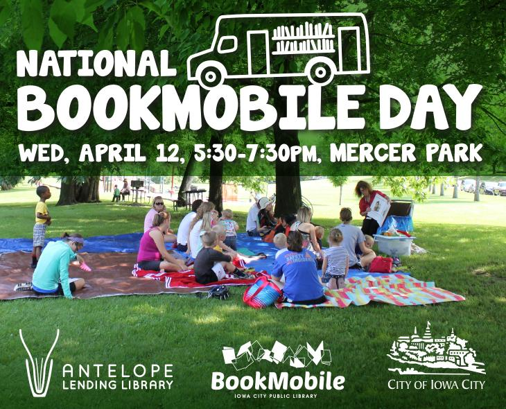 National Bookmobile Day event at Mercer Park | Iowa City