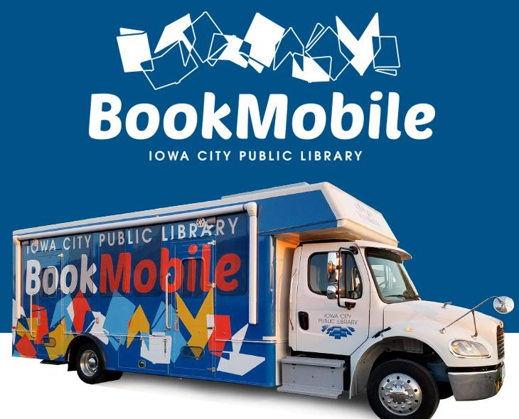 The Bookmobile is a mobile library service from the Iowa City Public Library.