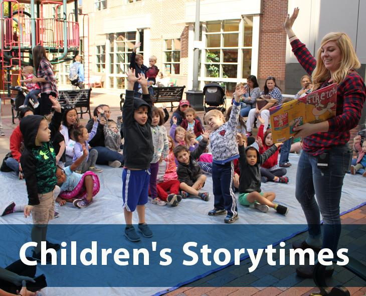 Visit our YouTube playlist for Children's Storytimes