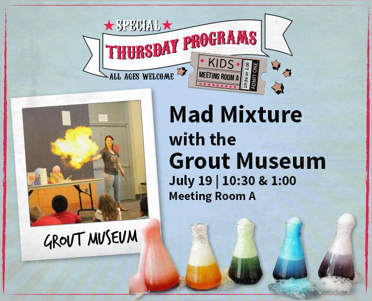 Come science enthusiasts one and all for a special program of fun and excitement Thursday.