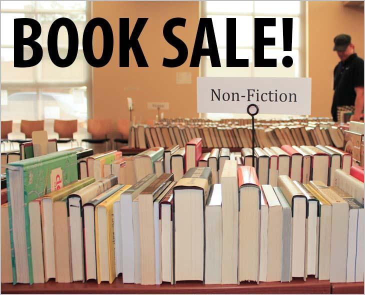 Visit the Library Saturday, and check out the quality materials and great bargains at the ICPL Friends Foundation Booksale.