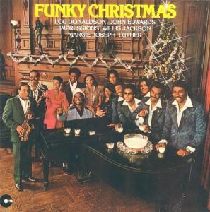 """Funky Christmas"" cover"