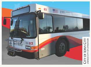 Iowa City Transit Bus