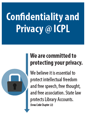Confidentiality and Privacy Graphic