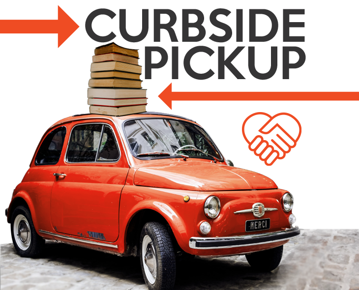 Curbside Pickup at Iowa City Public Library