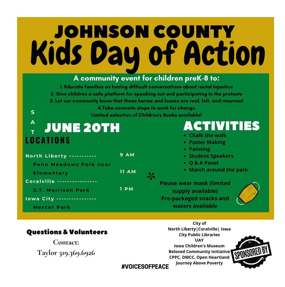 Kids Day of Action