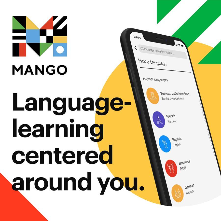 Mango language graphic