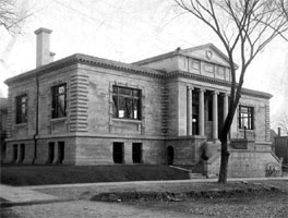 Carnegie building of the Iowa City Public Library