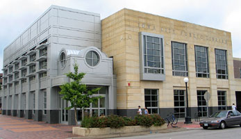 Current building of the Iowa City Public Library