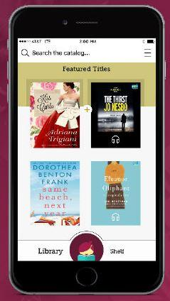 Try digital audiobooks on your smartphone or device today using OverDrive