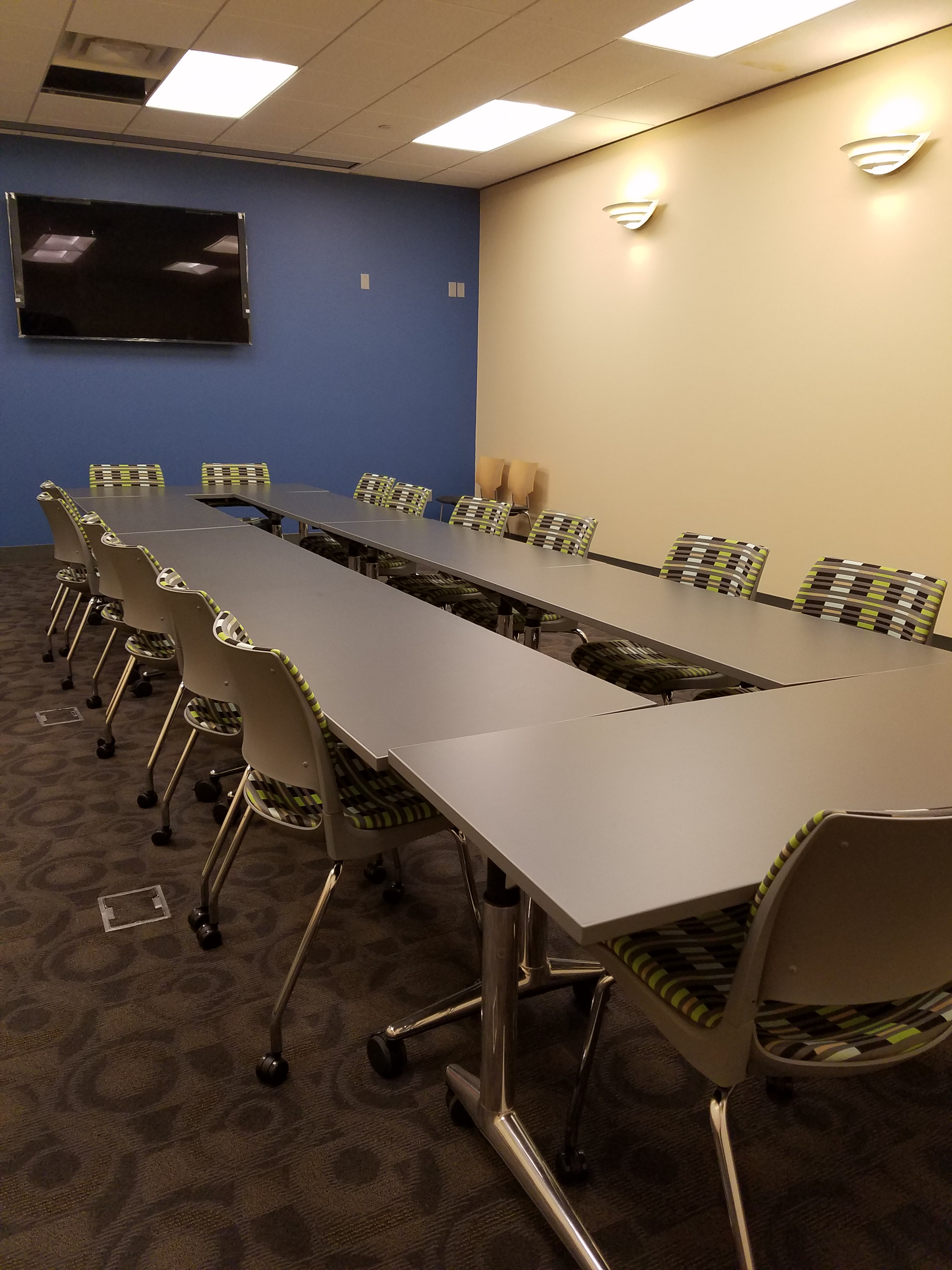 Meeting Room D Setup