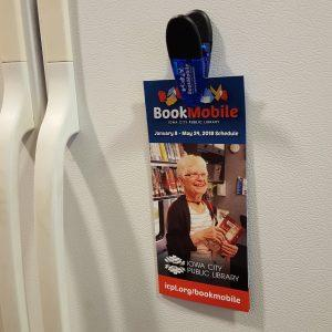 Bookmobile Clip and Brochure