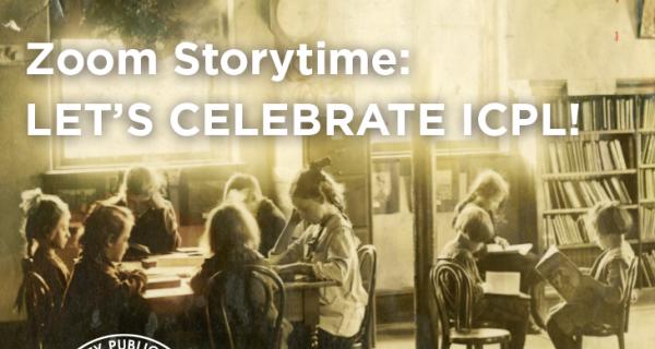 Zoom Storytime: Let's Celebrate ICPL!