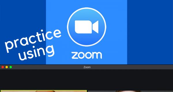 practice using zoom