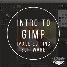 Intro to GIMP image editing software