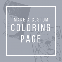 Make a Custom Coloring Page