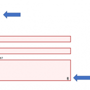 Screenshot of instructions for web form